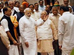 भुवनेश्वर पहुंचे प्रधानमंत्री नरेंद्र मोदी, सीएम नवीन पटनायक ने किया भव्य स्वागत।