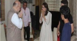 चुनाव लड़ने को लेकर धक धक गर्ल माधुरी दीक्षित ने दी अपनी राय।
